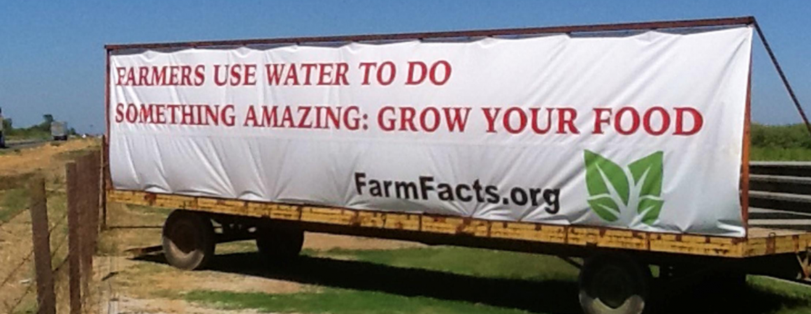 Farmers Use Water To Do Something Amazing: They Grow Your Food