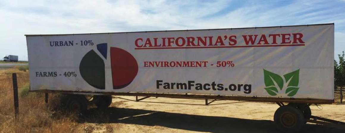 How is California's water used?