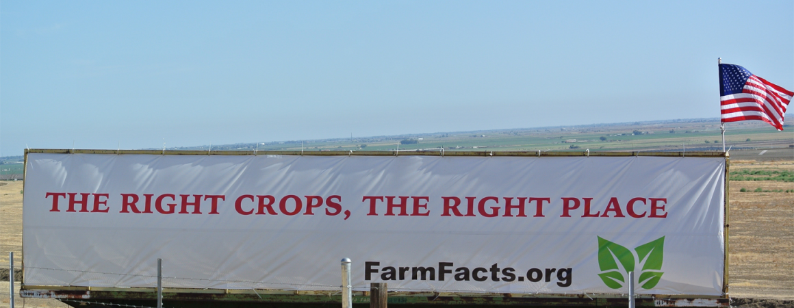 Right Crops, Right Place